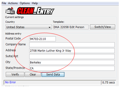 Clean_Entry after